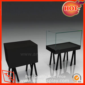 Black MDF Showcase Exhibition Display Stand pictures & photos