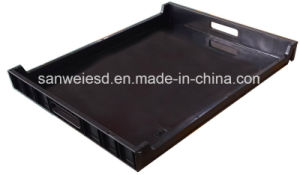 Plastic Black ESD Antisatic Conductive PCB Tray (3W-9805315) pictures & photos
