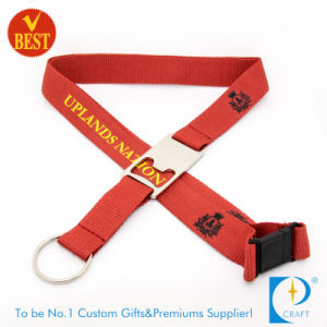 Flat Polyester Printed Sublimation Lanyard with Bottle Opener pictures & photos