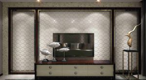Customized Leather 3D Panel SL-004 for Indoor Wall Decoration pictures & photos