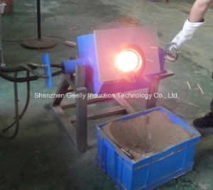 Induction Melting Furnace for Melting 50 Kgs of Copper, Brass, Silver, Gold pictures & photos