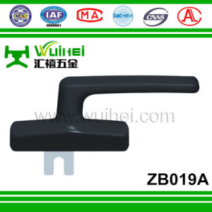 Aluminium Alloy Layer with Zinc Alloy Base Powder Coating Window Handle (ZB019A) pictures & photos