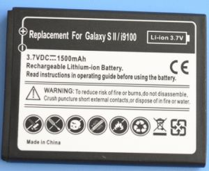 A Grade Mobile Phone Battery for Samsung S II pictures & photos
