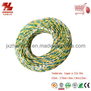PVC Insulated Soft Cable Electrical Wiring Twisted Copper Core Cable Rvs pictures & photos
