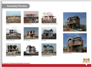 Prefabricated House of R04 Installation Process