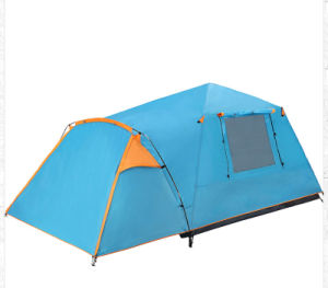 Waterproof Qucik Set up Double Skin Camping Tent 190t Polyester pictures & photos