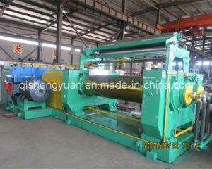 Xk-560 Rubber Mixing Mill with Stock Blender pictures & photos