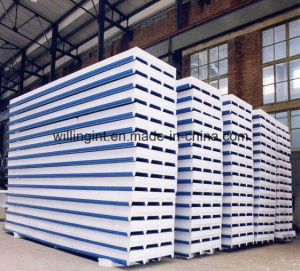 EPS Cement Sandwich Panel Production Line pictures & photos