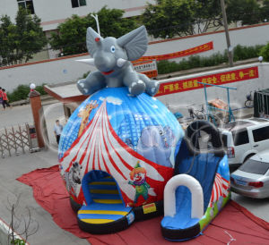 Inflatable Bouncer with Slide Elephant Bouncer (Chb441) pictures & photos