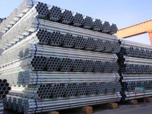 Galvanized Steel Pipe Hot DIP Gi/Galvanized ERW Pipe/Galvanized Round Tube pictures & photos