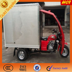Hot Sale Philippines Enclosed Cabin Box Tricycle pictures & photos