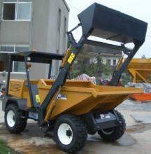 Self-Loading Site Dumper with Hydraulic Tipping System pictures & photos