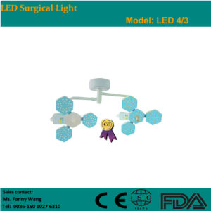 2015 LED Ceiling Surgical Light with Two Heads (LED4/3) -Fanny pictures & photos