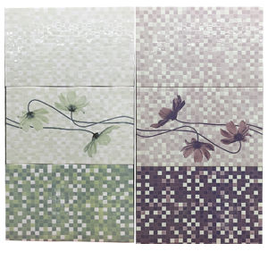 Building Material Mosaic Flower Pattern Sanitary Bathroom Ceramic Wall Tile pictures & photos