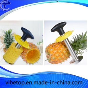 Kitchen Easy Gadget Stainless Steel Pineapple Peeler Slicer pictures & photos