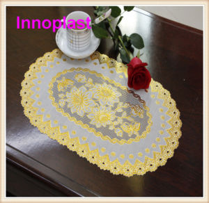PVC Gold/Silver Lace Placemat / Gold Doilies (JFCD-22) pictures & photos