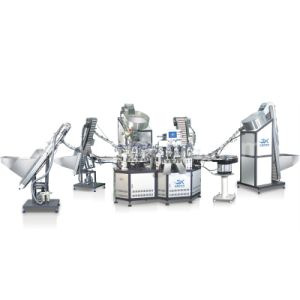 Fully Automatic Plastic Caps Assembly Machine