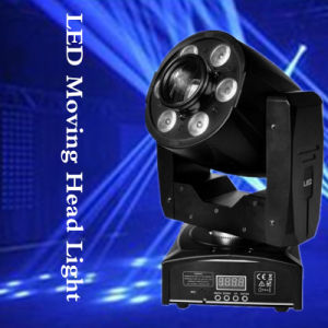 Spot Wash 2in1 1*30W White+6*8W RGBW LED Zoom Moving Head pictures & photos