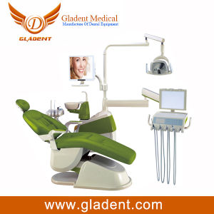 Colorful Dental Unit with LED Sensor Lamp pictures & photos