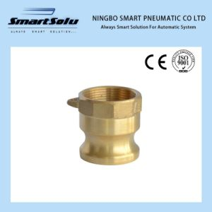 High Quality Brass Sand Casting Adaptor Cam Lock Coupling pictures & photos