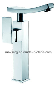 CE Approved Chrome Shiny Stainless Steel Basin Mixer Australian Style pictures & photos