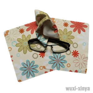 Transfer Printed Glasses Cloth-Xy00018 pictures & photos