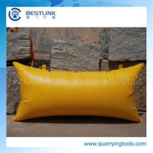 Factory Made Polymer Stone Block Pushing Air Bag pictures & photos