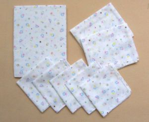 100% Cotton Baby Towel Set with Different Size pictures & photos