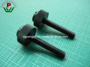 Adjustment Round Knurled Thumb Head Plastic Screw