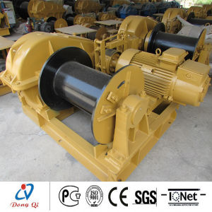 Construction Open Electric Winch with Heavy Duty Made in China