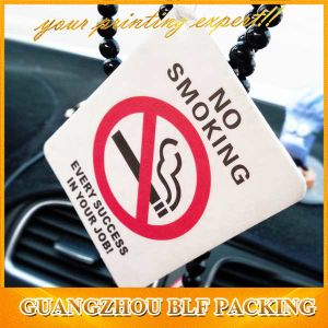 Car Vent Air Freshener for Warning Two Color Printing (BLF-C050) pictures & photos