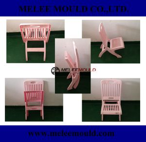Plastic Foldable Kids Pink Chair Mould pictures & photos