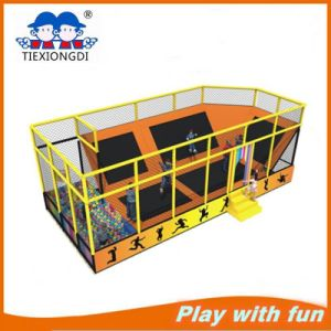 Factory Price Trampoline Park Indoor Commercial Cheap Trampoline for Sale Txd16-10602 pictures & photos