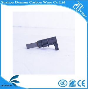 Carbon Brush and Brush Holder for Roller Washing Machine pictures & photos