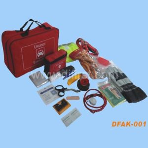 Auto Emergency First Aid Kit (DFAK-001) pictures & photos