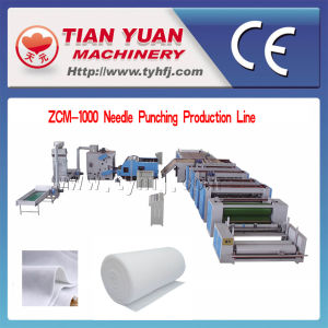 Nonwoven Gotextile Needle Punching Production Line pictures & photos