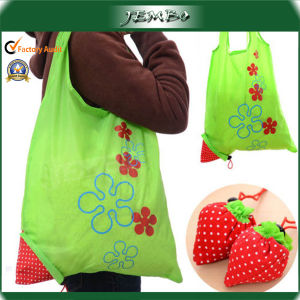 Eco Foldable Storage Handbag Strawberry Shopping Bag pictures & photos