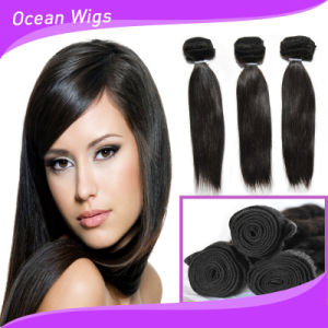 Cheap Peruvian Human Hair Weave 100% Raw Unprocessed Straight Virgin Peruvian Hair pictures & photos