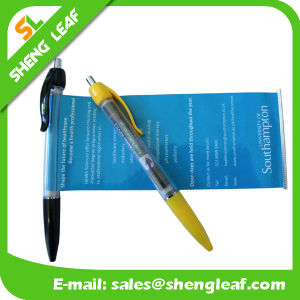 Custom Logo Printed on The Banner Custom Pens (SLF-LG040) pictures & photos