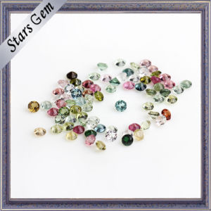 Round Small Size High Quality Colorful Natural Tourmaline Gemstone pictures & photos