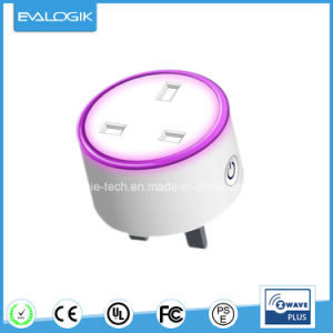 EVA Logik Smart Plug with Bsi Socket (ZW681BSI) pictures & photos