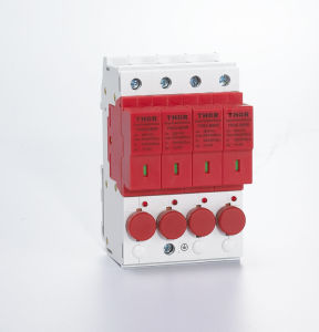 40ka Surge Arrester Lighting Surge Protector Circuit Breaker for CE pictures & photos
