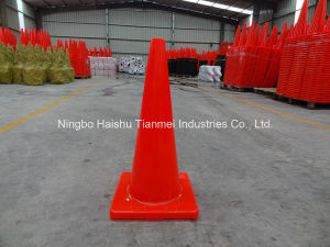 70cm Height PVC Traffic Cone, Road Safety Cone pictures & photos