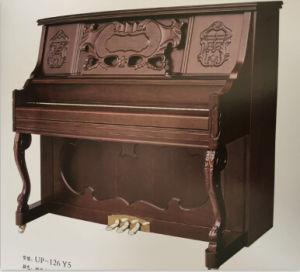 [Chloris] Solid Wood Keyboard Shanghai Brand Matte Upright Piano Hu-126my2 for Sale pictures & photos