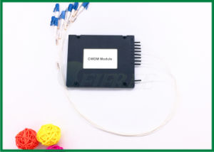 8 Channels CWDM Mux Demux in Plastic Box Multiplexer pictures & photos