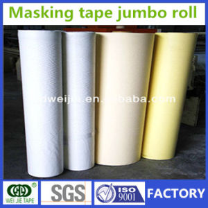 Weijie Crepe Paper Masking Tape Jumbo Roll Manufacturer pictures & photos