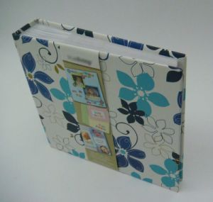 40 PP Sheets O Ring Photo Albums with Fabric Cover in Many Sizes and Designs