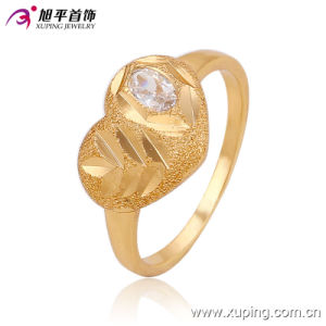 13552 New Arriva Low Price Children Gold Jewelry CZ Ring\ Zirconia Ring for Bady′s Design pictures & photos