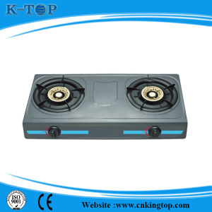 Good Quality Coated Panel Iron Burner LPG Gas Cooker pictures & photos