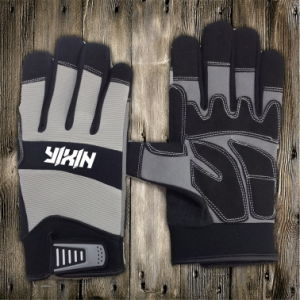Synthetic Leather Glove-Gloves-Working Glove-Utility Glove-Industrial Glove-Mechanic Glove-Safety Glove pictures & photos